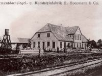 Industrie in Wildeshausen - Zementdachziegel- und Kunststeinfabrik H. Hoopmann & Co. um 1903